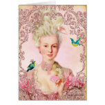 Let Them Eat Macarons Marie Antoinette Cards
