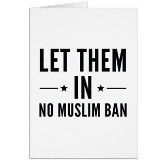 Let Them In Card