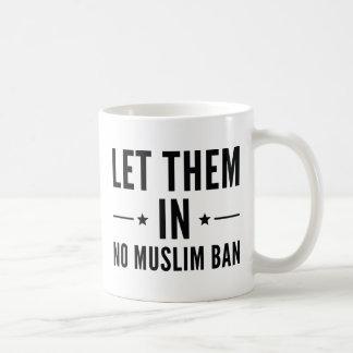 Let Them In Coffee Mug