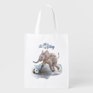 """Let Them Play"" Reusable bag"