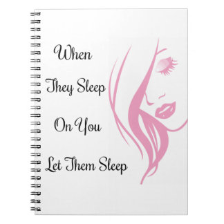 Let Them Sleep Photo Notebook