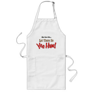 Let There Be YeeHaw BBQ  Aprons