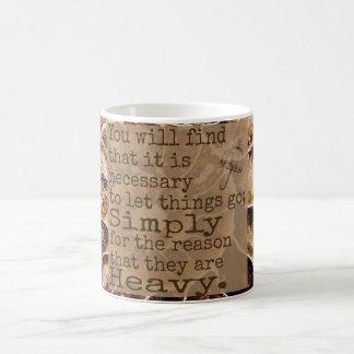 Let Things Go Coffee Mug