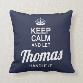 Let Thomas handle It! Cushion