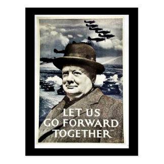 Let Us Go For War Postcard