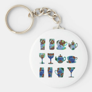 LET US PARTY : Bar, Club, Catering Kitchen GIFTS Key Chain