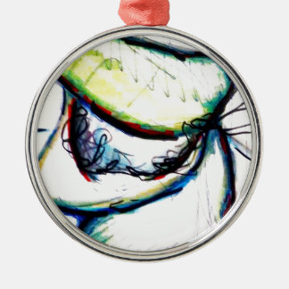 Let us take us to ideas unseen by Luminosity Silver-Colored Round Decoration