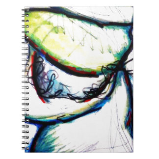 Let us take us to ideas unseen by Luminosity Spiral Notebook