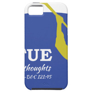 """""""Let Virtue Garnish Thy Thoughts"""" Angel Moroni iPhone 5 Cases"""