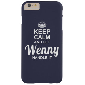 Let Wenny handle it Barely There iPhone 6 Plus Case