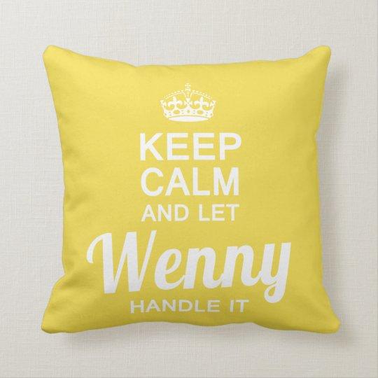 Let Wenny handle it Cushion