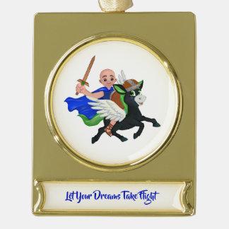 Let Your Dreams Take Flight Leo & Lucas Ornament