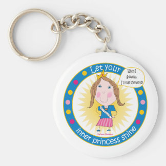 Let Your Inner Princess Shine Keychain