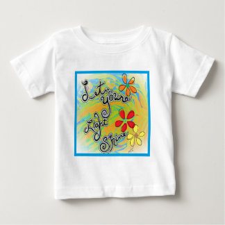 Let Your Light Shine Baby T-Shirt
