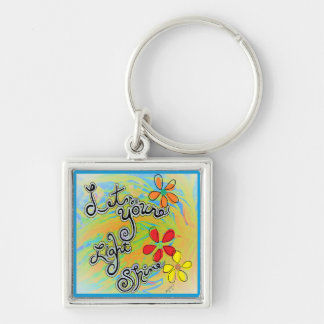 Let Your Light Shine Key Ring