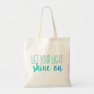 Let Your Light Shine On | Pink and Orange Tote Bag