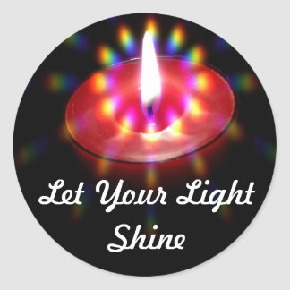 Let Your Light Shine stickers