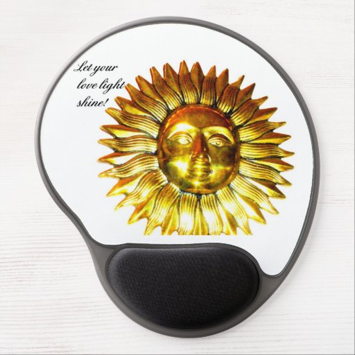 Let your Love Light Shine!  Mouse Pad Gel Mouse Pads