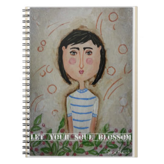 Let your soul blossom notebook