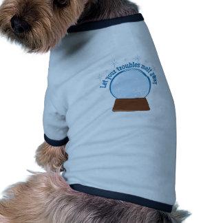 Let Your Troubles Melt Away Ringer Dog Shirt