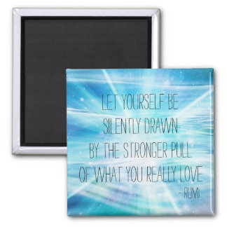 Let Yourself Be Drawn Square Magnet