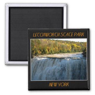Letchworth State Park - Middle Falls Square Magnet