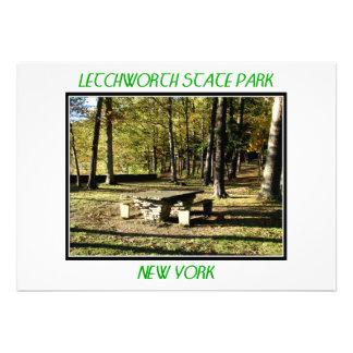 Letchworth State Park - Tea Table Rock Announcement