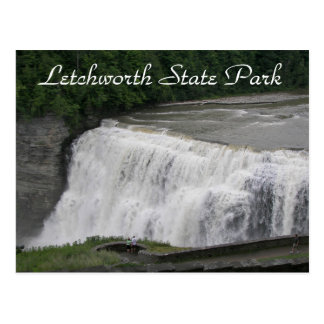 Letchworth State Park Travel Postcard