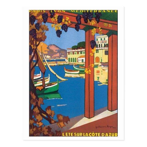 Lete Sur La Cote D' Azur Post Card