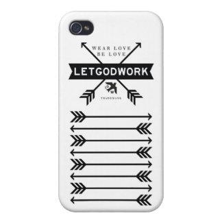 LETGOdwork Arrows iPhone 4 Case