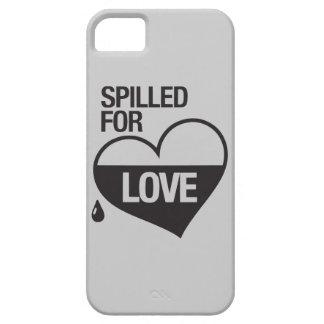 LETGOdwork Spilled For Love Case iPhone 5