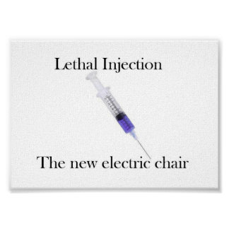Lethal Injection Poster