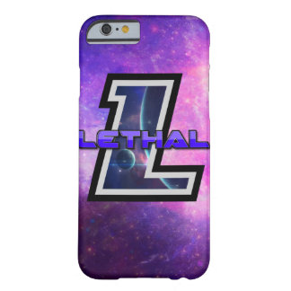 LETHAL LOGO CASE! BARELY THERE iPhone 6 CASE