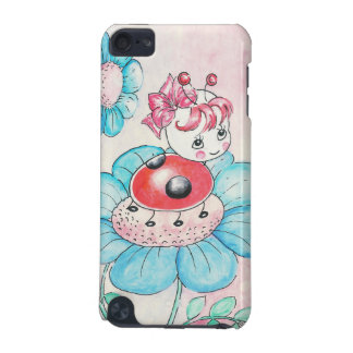 Letitia Ladybug On Flower iPod Touch 5G Cases