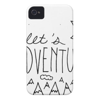 Let's Adventure-01 iPhone 4 Covers