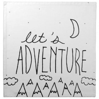 Let's Adventure-01 Napkin