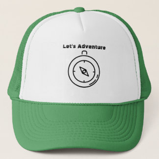 Let's Adventure Compass Hat