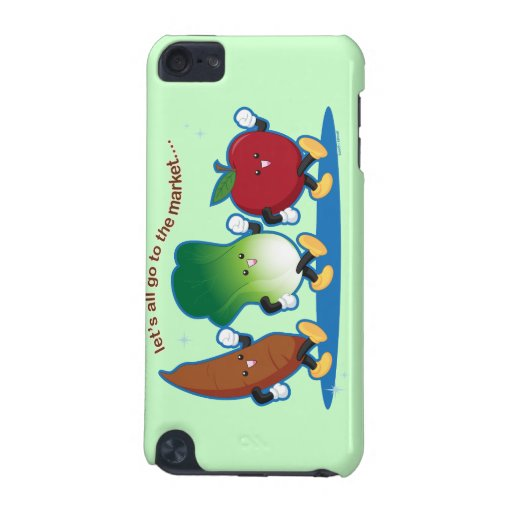 Let's All Go to the Market iPod Touch (5th Generation) Covers