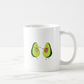 LET'S AVOCUDDLE, AVOCADO DESIGN COFFEE MUG