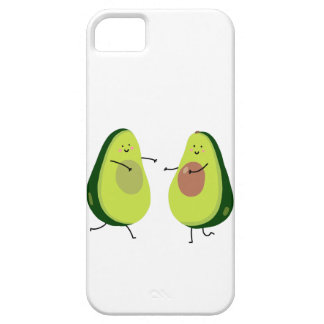 LET'S AVOCUDDLE, AVOCADO DESIGN iPhone 5 COVERS
