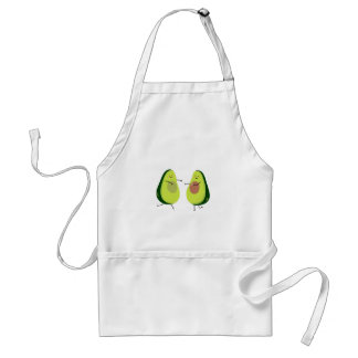 LET'S AVOCUDDLE, AVOCADO DESIGN STANDARD APRON
