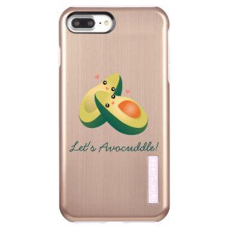 Let's Avocuddle Funny Cute Avocados Pun Humor Incipio DualPro Shine iPhone 8 Plus/7 Plus Case