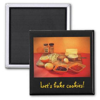 Let's bake cookies! magnet
