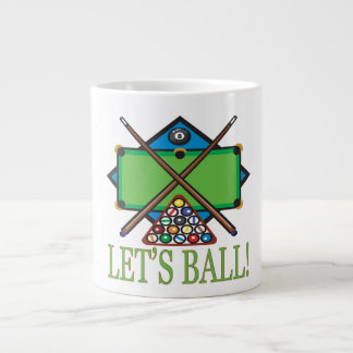 Lets Ball 20 Oz Large Ceramic Coffee Mug