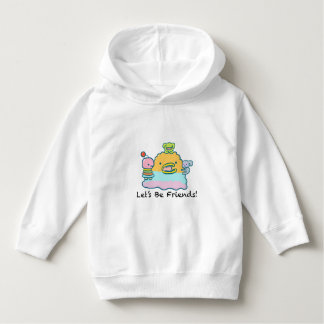 Let's Be Friends Toddler Pullover Hoodie
