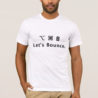 Let's Bounce. T-Shirt