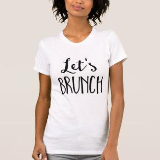 Let's Brunch Pullover White Women's Hoodie