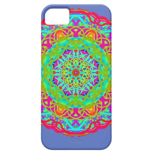 Let's Celebrate Colourful Mandala Case For The iPhone 5