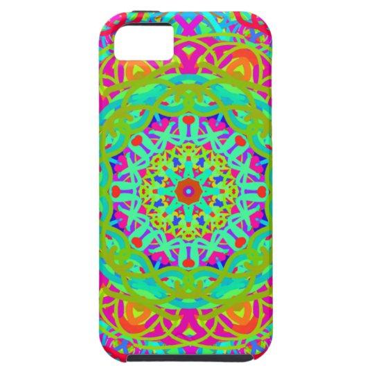 Let's Celebrate Colourful Mandala iPhone 5 Case