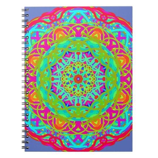 Let's Celebrate Colourful Mandala Notebooks